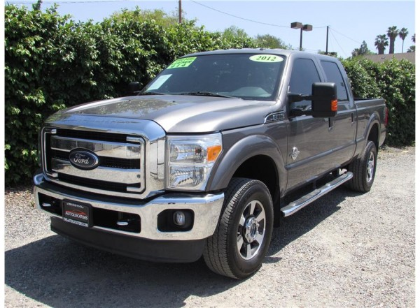 2012 Ford F350 Super Duty Crew Cab Lariat Pickup 4D 6 3/4 ft SOLD!!!