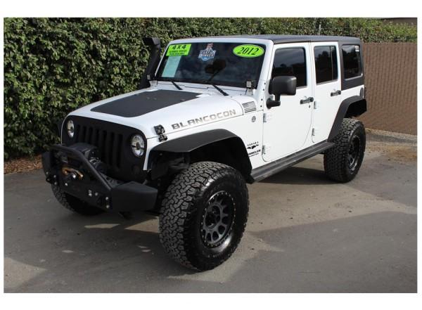 2012 Jeep Wrangler Snorkle