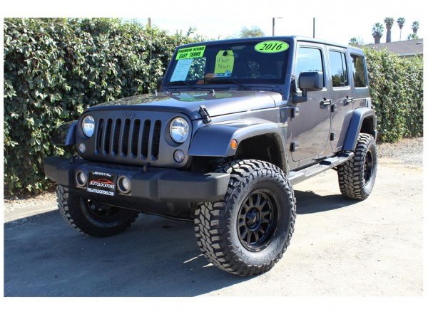 2016 Jeep Wrangler Oscar Mike SOLD!!!
