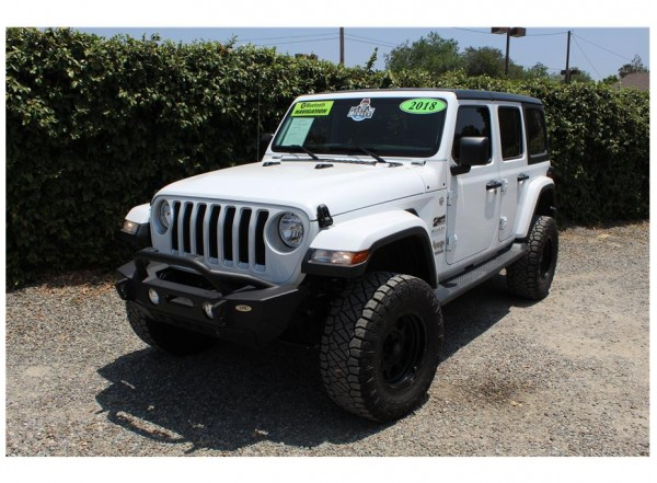2018 Jeep Wrangler Unlimited All New Sahara SOLD!!!