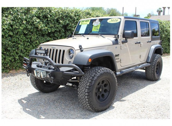 2016 Jeep Wrangler Unlimited Sport SOLD!!!