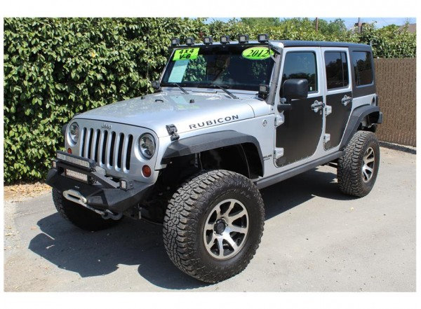 2012 Jeep Wrangler Unlimited Rubicon Sport Utility 4D