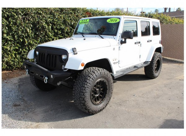 2016 Jeep Wrangler Color Matched-SOLD!!!