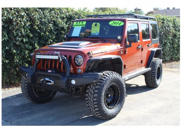 2014 Jeep Wrangler Supercharged SOLD!!!
