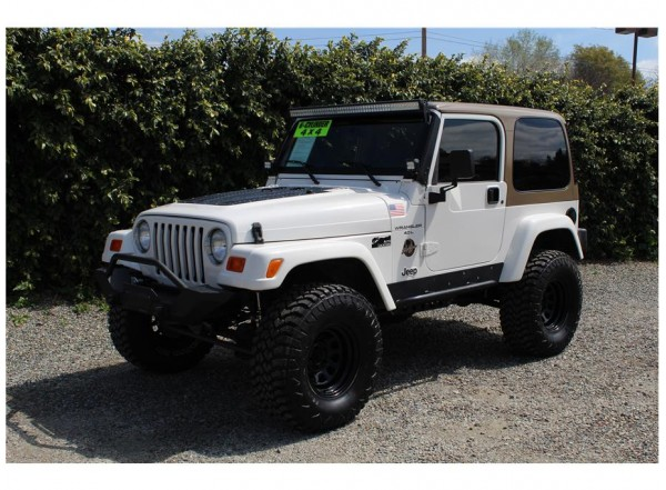 2001 Jeep Wrangler Sahara SOLD!!!