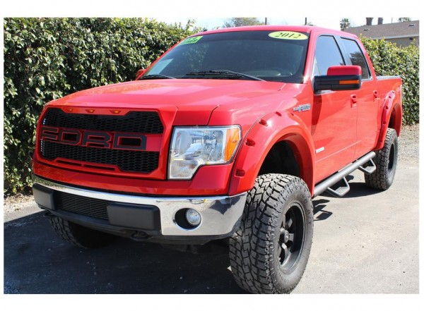 2012 Ford F150 SuperCrew Cab Lariat Pickup 4D 5 1/2 ft