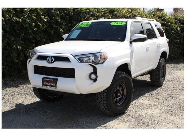 2018 Toyota 4Runner SR5 SOLD!!!
