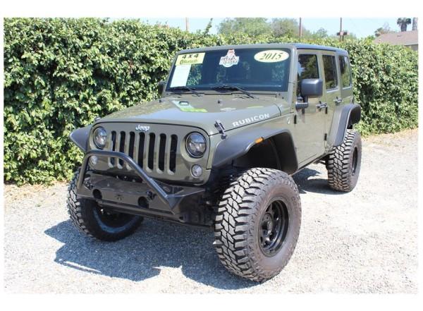 2015 Jeep Wrangler Tank