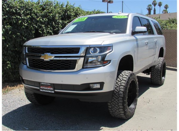 2015 Chevrolet Suburban Lifted- Loaded- SOLD!!!!