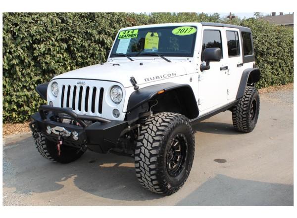2017 Jeep Wrangler Unlimited RockKrawler Lift- SOLD!!!