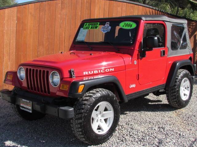 2006  Jeep Wrangler SOLD!!!