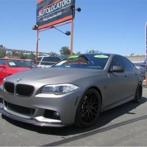 2012 BMW 5 Series Super Sick Custom Ride