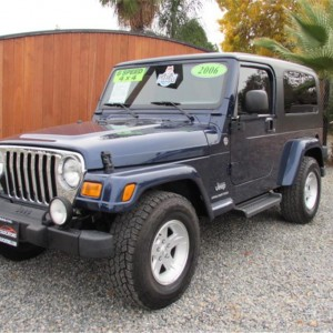 2006 Jeep Wrangler Long Wheel Base