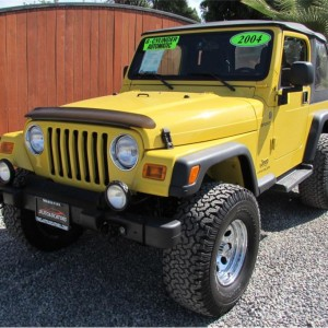 "2004 Jeep Wrangler Sport"" Sport Utility 2D"""