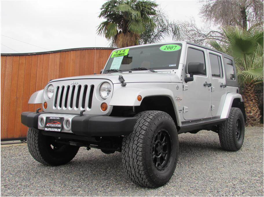 2007 Jeep Wrangler Unlimited Sahara Sport Utility 4D
