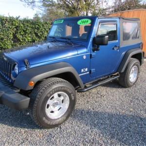 2009 Jeep Wrangler X SOLD!!!