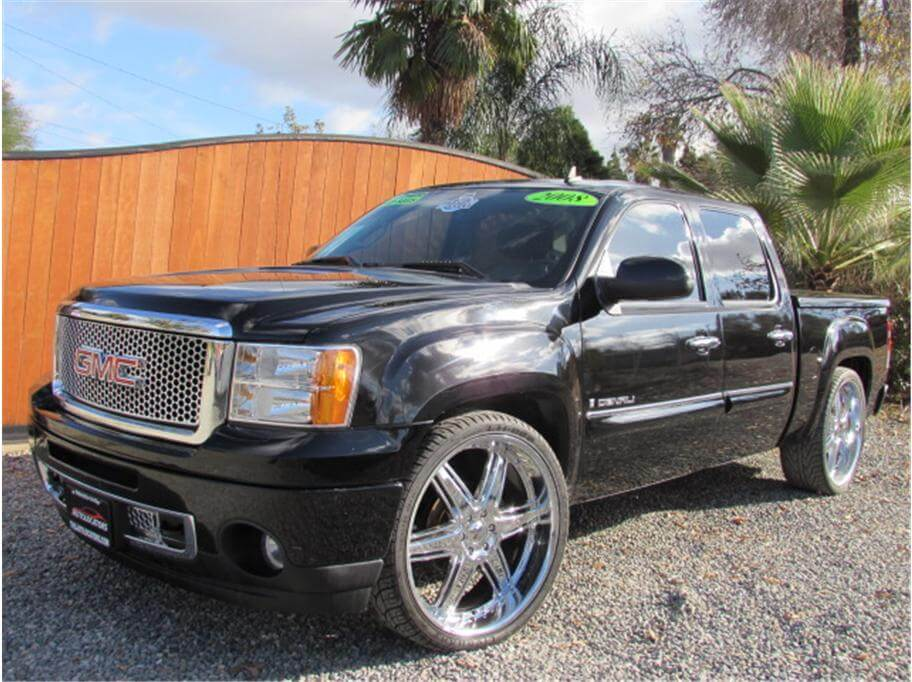 2008 gmc sierra 1500 crew cab denali sold. Black Bedroom Furniture Sets. Home Design Ideas