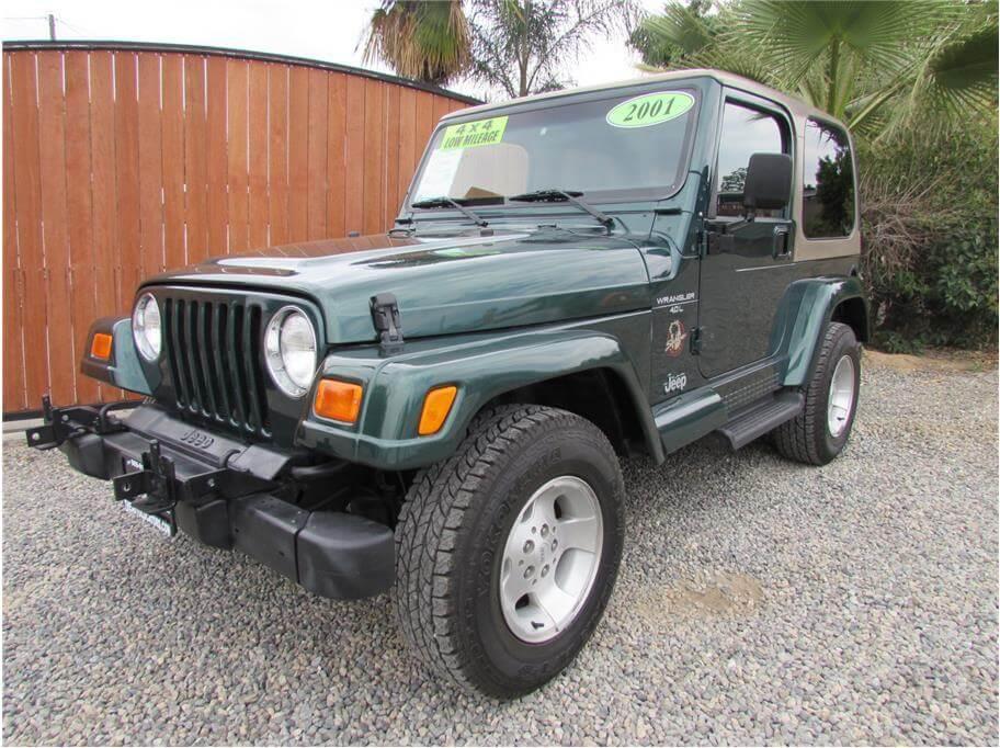SOLD***** 2001 Jeep Wrangler Sahara Sport Utility 2D