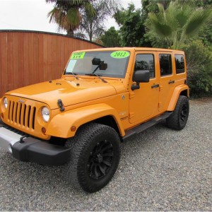 SOLD***** 2012 Jeep Wrangler Unlimited Sahara Sport Utility 4D