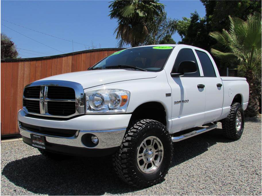 SOLD***** 2007 Dodge Ram 1500 Quad Cab SLT Pickup 4D 6 1/4 ...