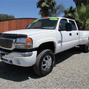 SOLD***** 2007 GMC Sierra (Classic) 3500 Crew Cab SLT Pickup 4D 8 ft