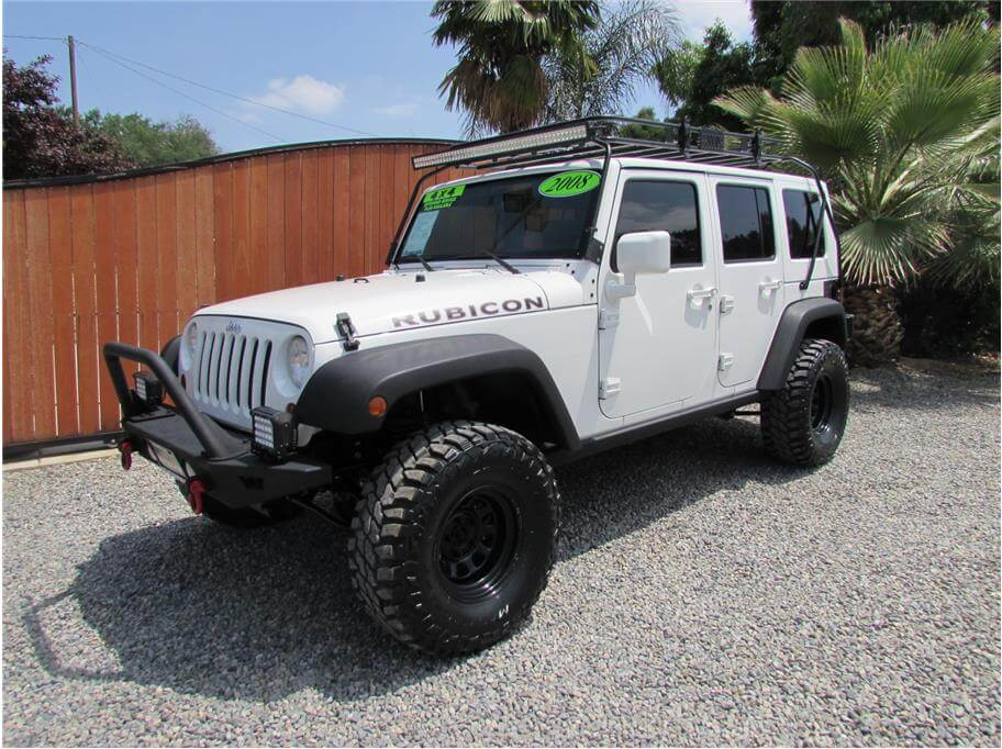 SOLD***** 2008 Jeep Wrangler Unlimited Rubicon Sport Utility 4D