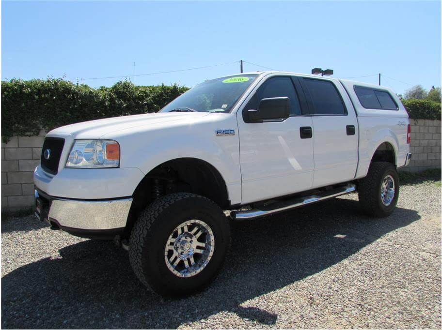 SOLD***** 2006 Ford F150 SuperCrew Cab XLT Pickup 4D 5 1/2 ft