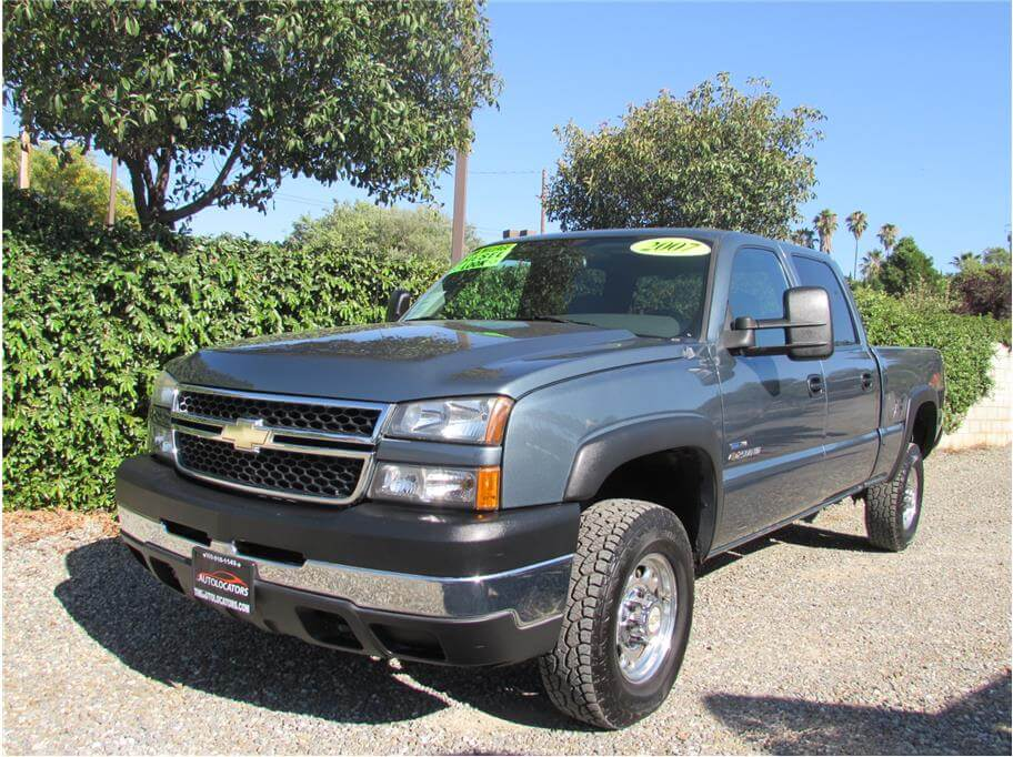 SOLD***** 2007 Chevrolet Silverado (Classic) 2500 HD Crew Cab LT Pickup 4D 6 1/2 ft