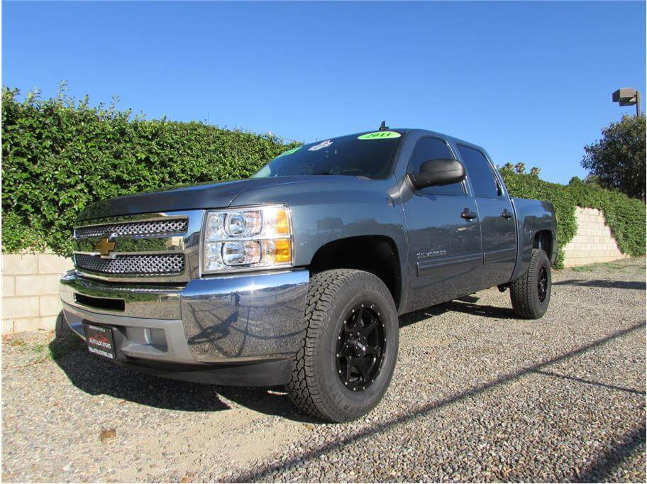 SOLD***** 2013 Chevrolet Silverado 1500 Crew Cab LT Pickup 4D 5 3/4 ft