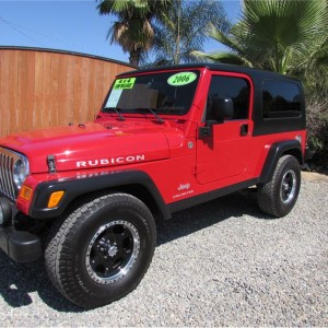 SOLD***** 2006 Jeep Wrangler Rubicon Sport Utility 2D