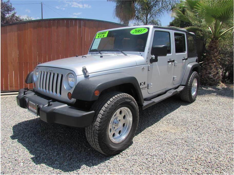 SOLD***** 2007 Jeep Wrangler Unlimited X Sport Utility 4D