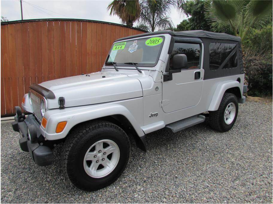 SOLD***** 2005 Jeep Wrangler Unlimited Sport Utility 2D