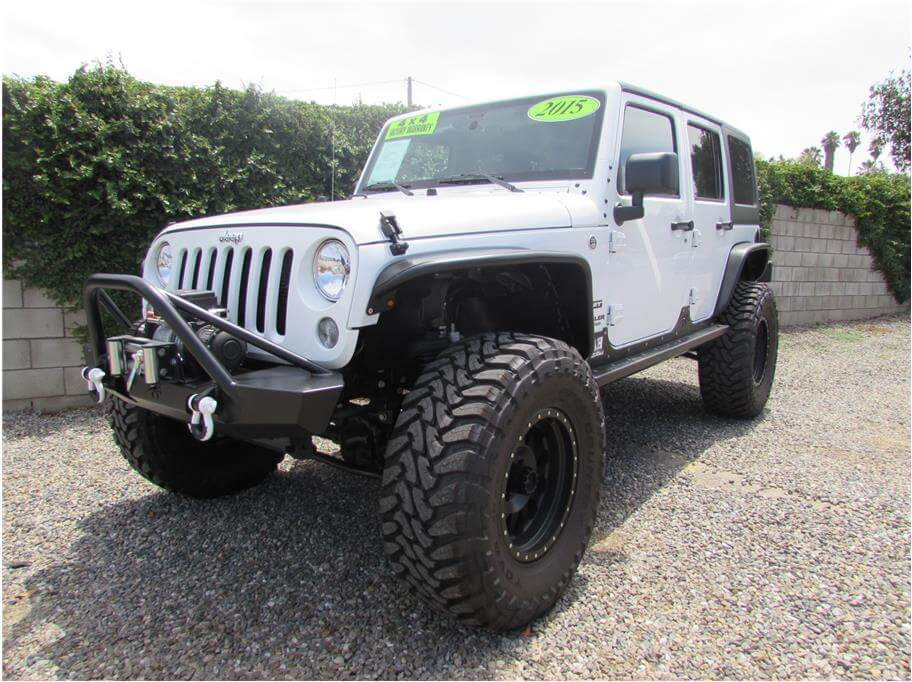 SOLD***** 2015 Jeep Wrangler Unlimited Sport SUV 4D
