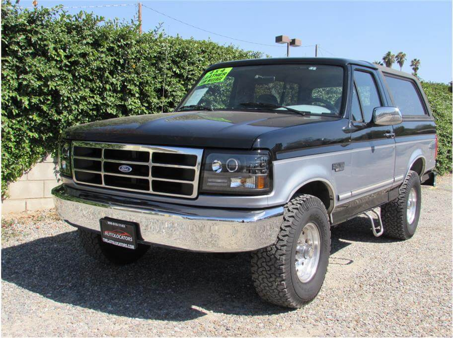 SOLD***** 1994 Ford Bronco Sport Utility 2D