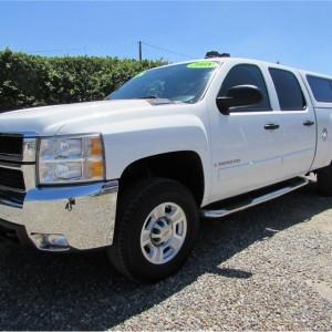 2008 Chevrolet Silverado 2500 HD Crew Cab LT Pickup 4D 6 1/2 ft SOLD*****