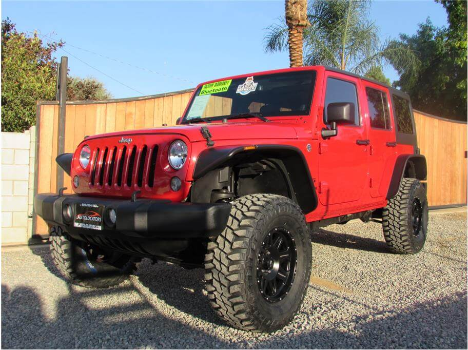 2014 Jeep Wrangler Unlimited Freedom Edition Sport Utility 4D SOLD***