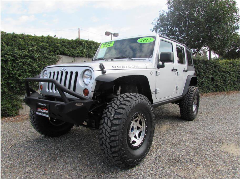 2012 Jeep Wrangler Unlimited Rubicon Sport Utility 4D SOLD*****
