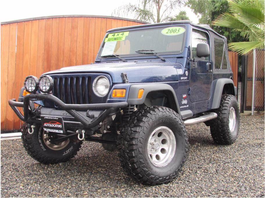 SOLD***** 2005 Jeep Wrangler Sport SUV 2D
