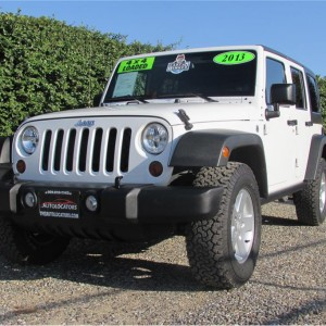 2013 Jeep Wrangler Unlimited Sport SUV 4D SOLD*****