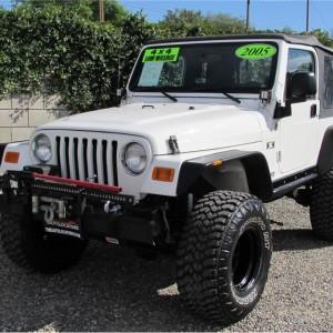 2005 Jeep Wrangler X Sport Utility SOLD!!