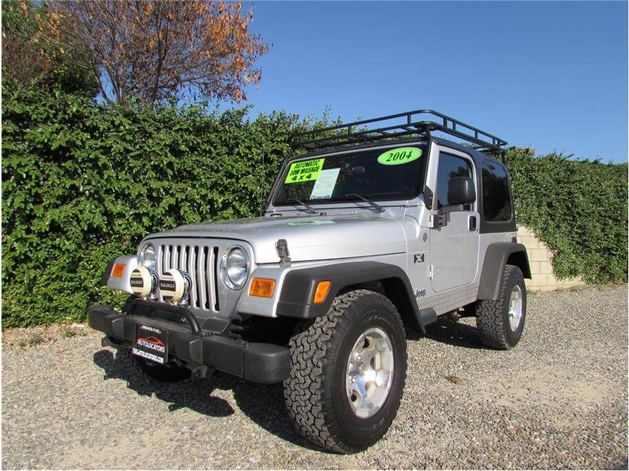 2004 Jeep Wrangler X SOLD!!!