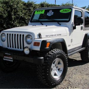 2003 Jeep Wrangler Rubicon SOLD!!!