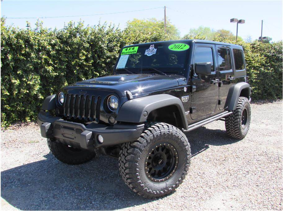 2012 Jeep Wrangler Call Of Duty Mw3 Sold