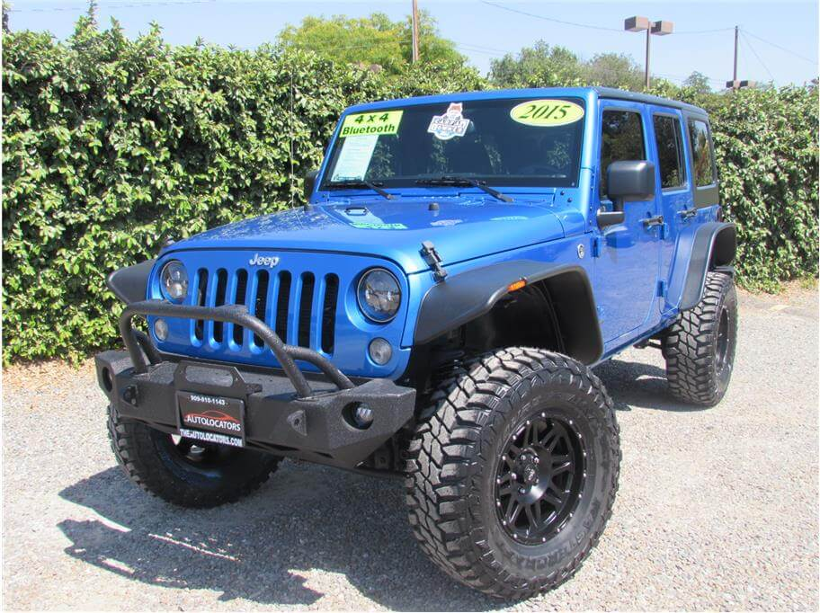 2015 Jeep Wrangler Lifted SOLD!!!