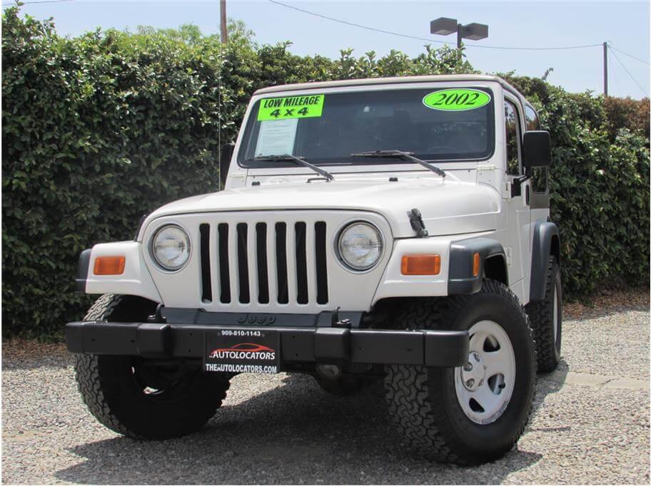 2002 Jeep Wrangler X SOLD!!!