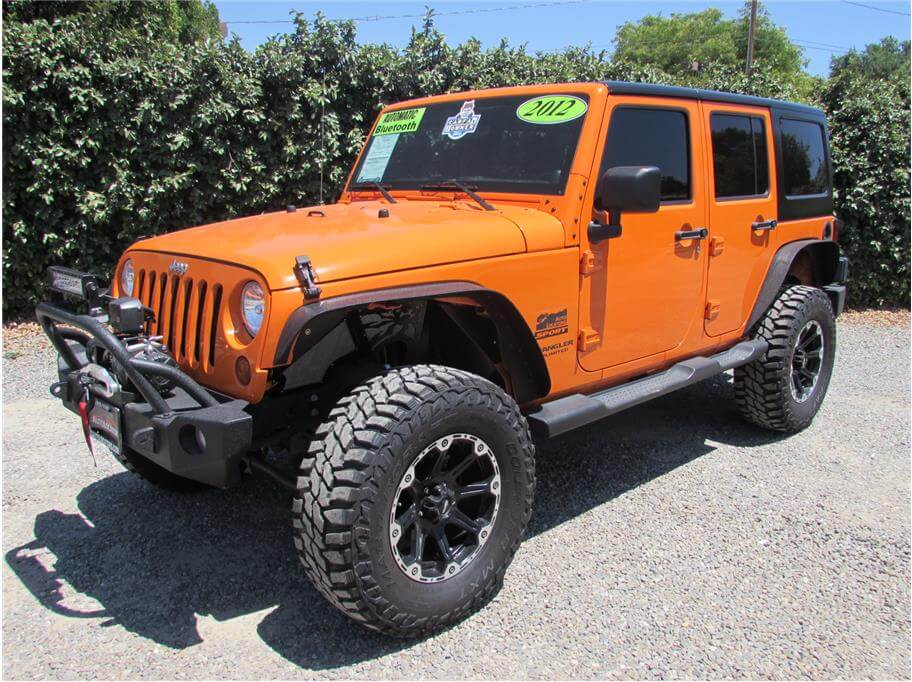 2012 Jeep Wrangler Unlimited Sport SUV 4D SOLD!!!