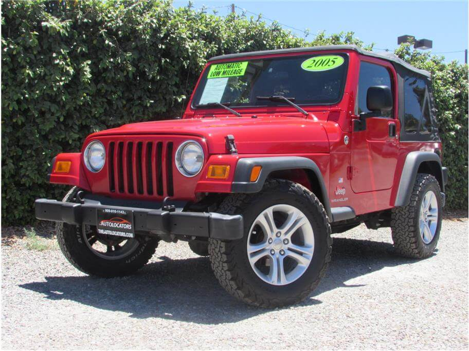 2005 Jeep Wrangler Soft Top SOLD!!!