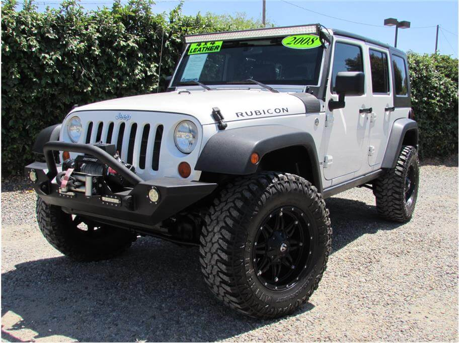 2008 Jeep Wrangler Unlimited Rubicon Sport Utility 4D SOLD!!!