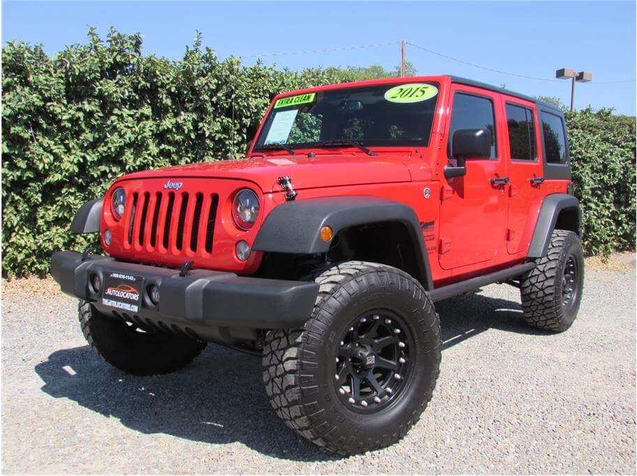 2015 jeep wrangler unlimited sport suv 4d sold. Black Bedroom Furniture Sets. Home Design Ideas