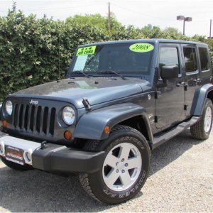 2008 Jeep Wrangler Unlimited Sahara Sport Utility 4D SOLD!!!